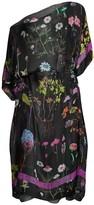 Stella McCartney Trippy Floral Silk Caftan Coverup