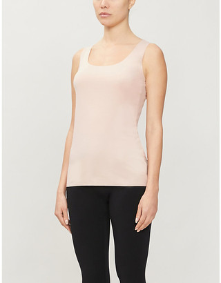 Wolford Aurora Pure stretch-jersey vest top