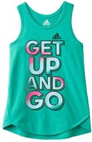 adidas Toddler Girl Graphic Tank Top