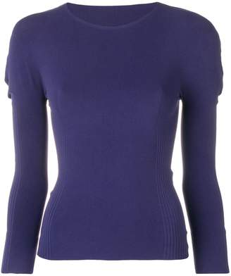 Pleats Please Issey Miyake Stretch Fit Jumper