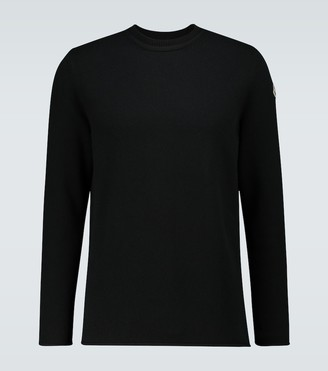 Moncler Icon knitted crewneck sweater