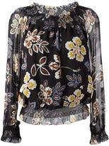 Tory Burch floral print blouse - women - Silk/Cotton/Polyester - 4