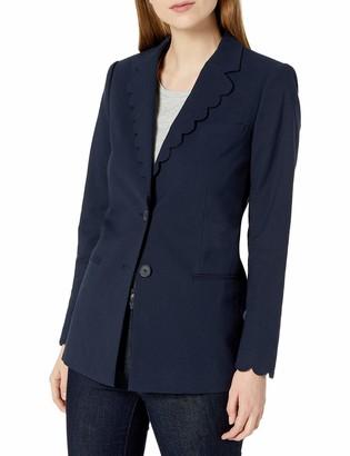 Rebecca Taylor Women's Scalloped Suiting Blazer