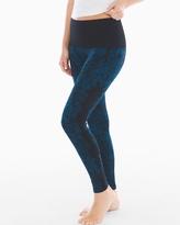 Soma Intimates Slimming Legging Blossom Placement Poseidon