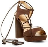 Vince Camuto Kaelena Ghillie Lace-Up Platform Sandal