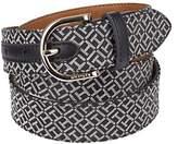 "Tommy Hilfiger 1"" Jacquard Fabric Belt"