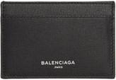 Balenciaga Black Essential Single Card Holder