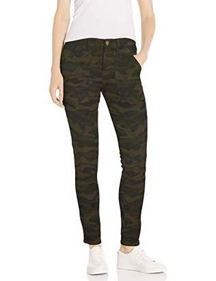Amazon Brand - Daily Ritual Women's Stretch Twill High-Rise Ankle-Zip Utility Pant