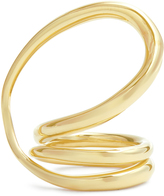 Charlotte Chesnais Round Trip gold-plated ring