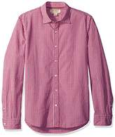 Franklin Tailored Franklin Tailo Men's Regular-Fit Long-Sleeve Small-Scale Gingham Shirt