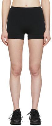 Wone Black Flat Front Shorts