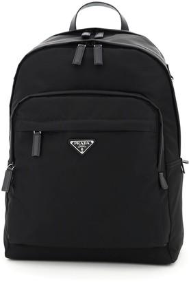 Prada Montagna Fabric Backpack