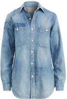 Polo Ralph Lauren Denim Patchwork Shirt