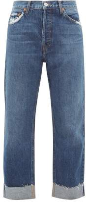 RE/DONE 90s Loose Straight-leg Jeans - Womens - Denim