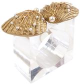 Kim Seybert Sand Dollar Napkin Ring