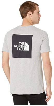 The North Face Short Sleeve Red Box Tee (TNF Light Grey Heather) Men's T Shirt