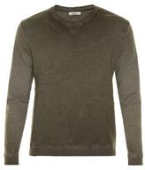 Valentino Star-panel crew-neck sweatshirt