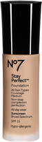 No7 Stay Perfect Foundation Broad Spectrum SPF 15