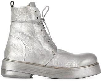 Marsèll Metallic Military Boots