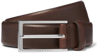 HUGO BOSS 3cm Carmello Full-Grain Leather Belt