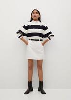 Thumbnail for your product : MANGO Denim miniskirt with drawstring