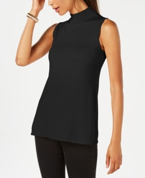 JM Collection Petite Sleeveless Mock Neck Sweater, Created for Macy's