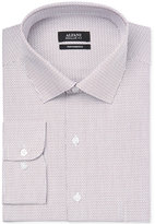 Alfani Men's Classic/Regular Fit Performance Stretch Easy Care Dobby Dress Shirt, Only at Macy's