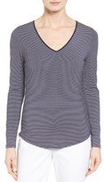 Nordstrom Women's Stripe Stretch Modal Top