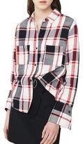 MANGO Check Button-Down Shirt