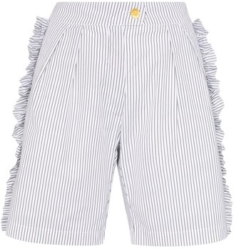 Brøgger Mona Ruffle Detail Shorts