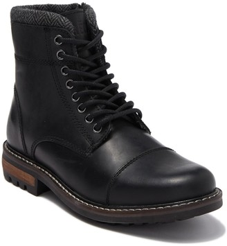 Crevo Regent Cap Toe Leather Lug Boot