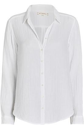 XiRENA Scout Cotton Gauze Button-Down Shirt