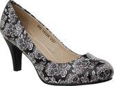 Women's T.U.K. Original Footwear Day of the Dead Tattoo Heel