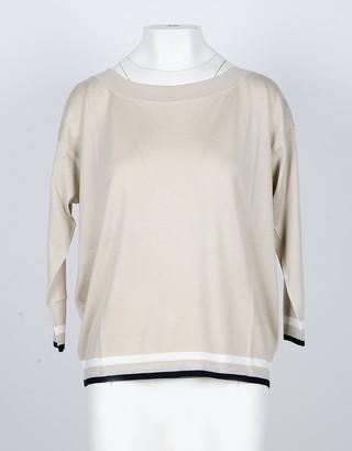 Lamberto Losani Women's Beige Sweater