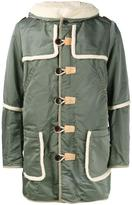 Visvim 'Hudson' military coat - men - Cotton/Linen/Flax/Nylon/Lamb Fur - 2
