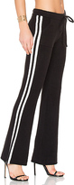 Pam & Gela Sweatpant in Black & White. - size L (also in )
