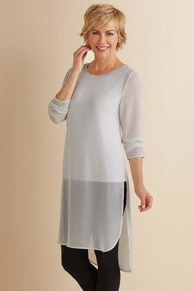 Soft Surroundings Women Relaxed Elegance Tunic