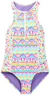 Vigoss Candy Land One Piece Swimsuit (Big Girls)