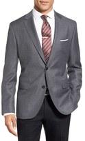 BOSS Men's 'Jewels' Trim Fit Check Wool Sport Coat