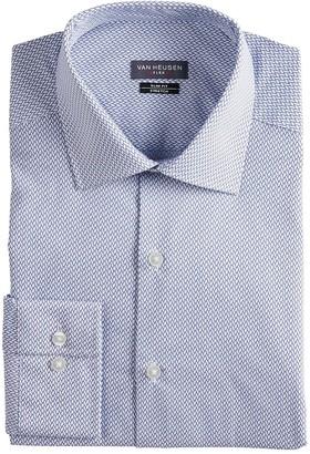 Van Heusen Men's Slim-Fit Flex Spread-Collar Dress Shirt