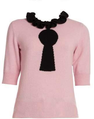 Moschino Keyhole Print Sweater
