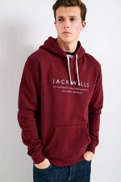 Jack Wills Batsford Wills Popover Hoodie