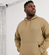 ONLY & SONS oversized hoodie sweat in camel