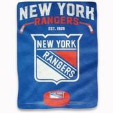 "Northwest Company The New York Rangers 60"" x 80"" Inspired Raschel Plush Blanket"