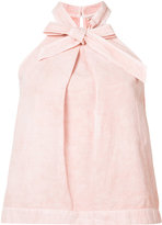 Ulla Johnson halter-neck bow tank