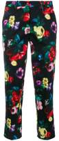Love Moschino floral pixel trousers