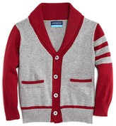 Andy & Evan Boys' Varsity Cardigan Sweater - Sizes 2-7
