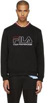 Gosha Rubchinskiy Black Fila Edition Pullover