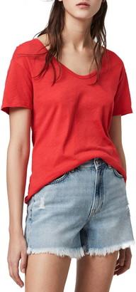 AllSaints Mia Fifi Scoop Neck T-Shirt
