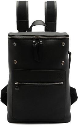 Loewe Goya Leather Backpack - Black